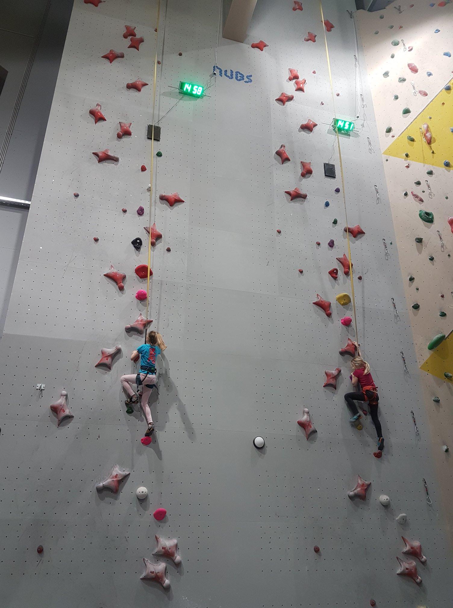 Stena za hitrostno plzanje - Plezalni center celje
